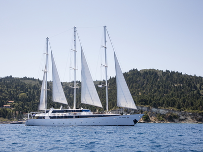 M/S Panorama exterior sailing Cuba sail boat ship