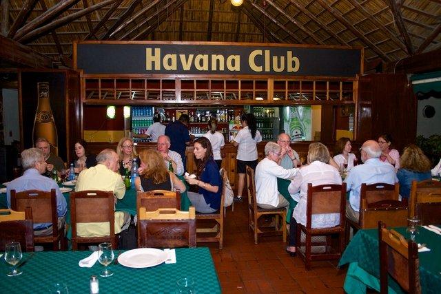 Group at first dinner Havana.jpg