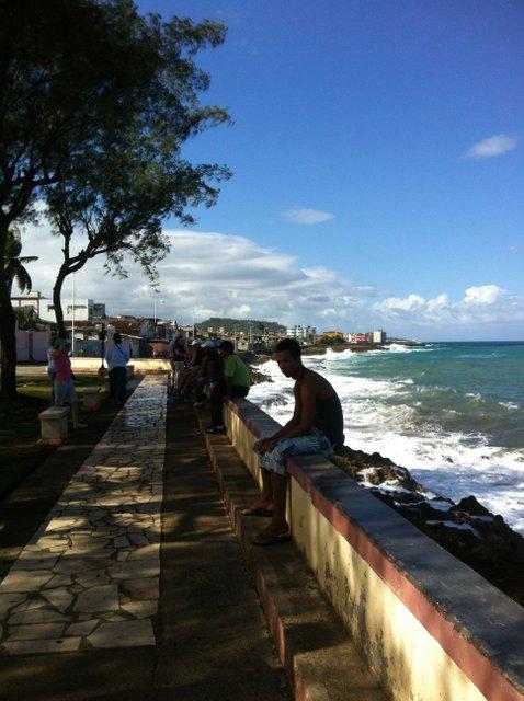Malecon in Baracoa, Cuba.JPG