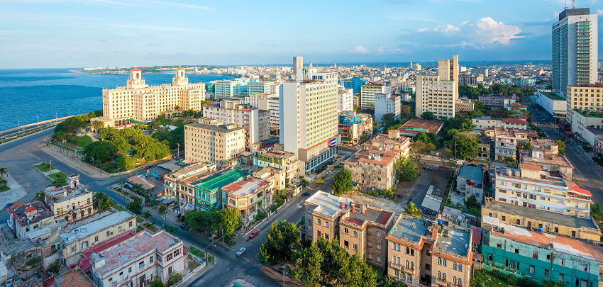 Aerial View of Havana