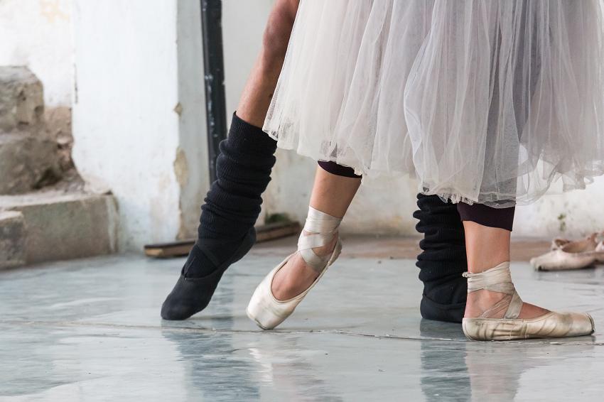 Ballet Dancer Feet