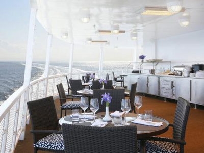 cliff rock outdoor bar and grille m/v victory I dinning yacht vacation cruise cuba eat food drink restaurant relax
