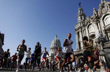 Cubanos en Maratón de la Esperanza en homenaje a Terry Fox