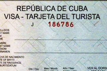 visa cuba: