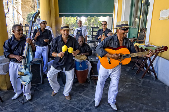Cuban Musicians, Photo Credit: Robin Thom