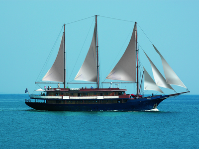 M/S Galileo exterior sail greece cyclades islands relax vacation