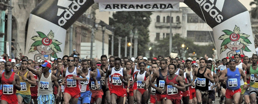 Running the Marabana Havana Marathon