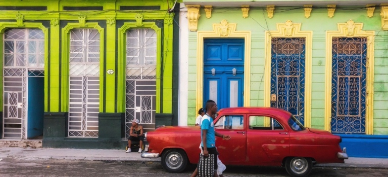 Neighborhood in Havana, Cuba