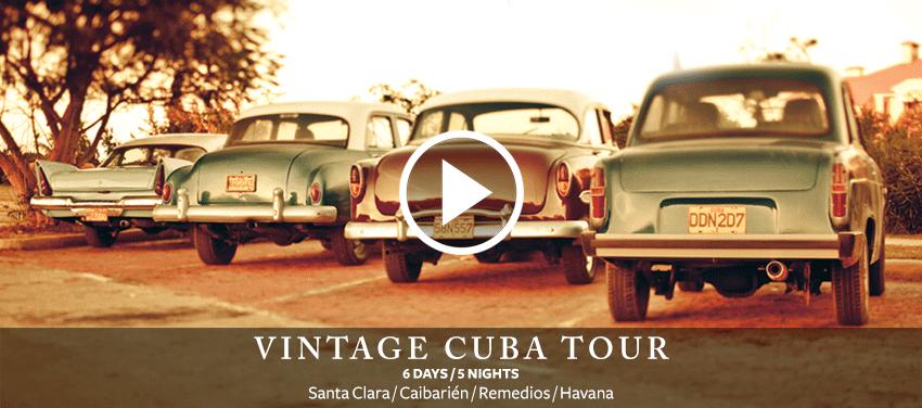 Vintage Cuba 6 days 5 nights Havana Remedios Cabarien Santa Clara