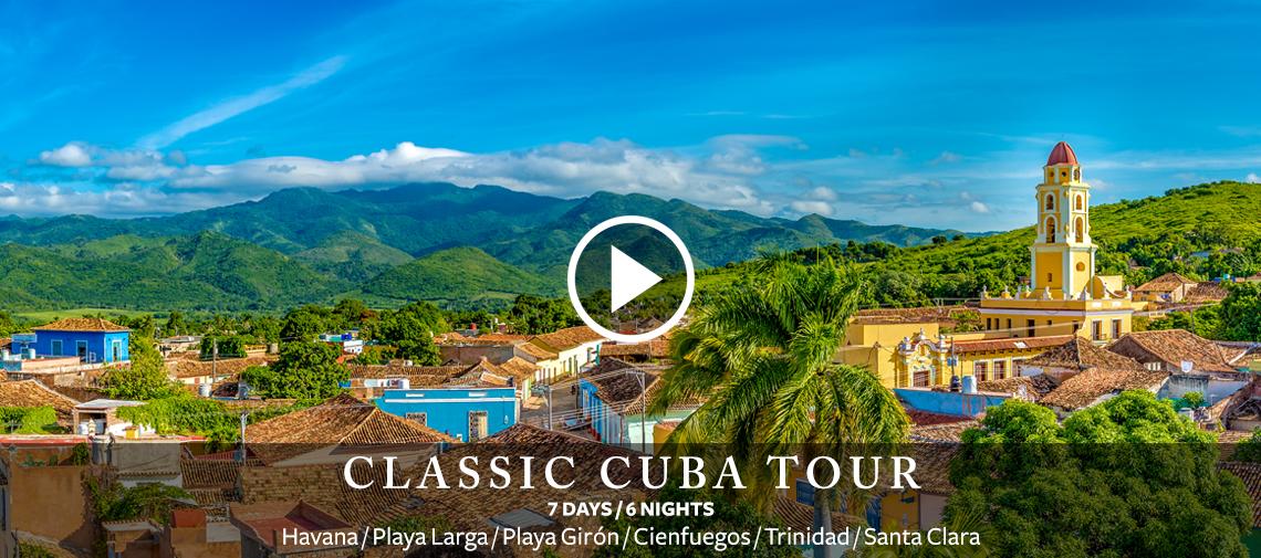 Classic Cuba Tour - 7 Days / 6 Nights - Havana, Playa Larga, Playa Giron, Cienfuegos, Trinidad