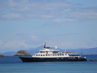 M/Y Callisto cruising along the Caribbean mega yacht Coastal Cuba luxury cruise