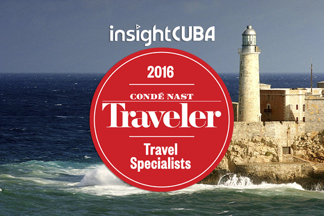 Condé Nast Travel Specialist of 2016 - insightCuba