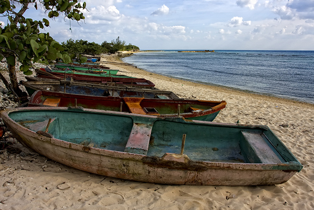 Playa Girón ( Bay of Pigs ) in Cuba