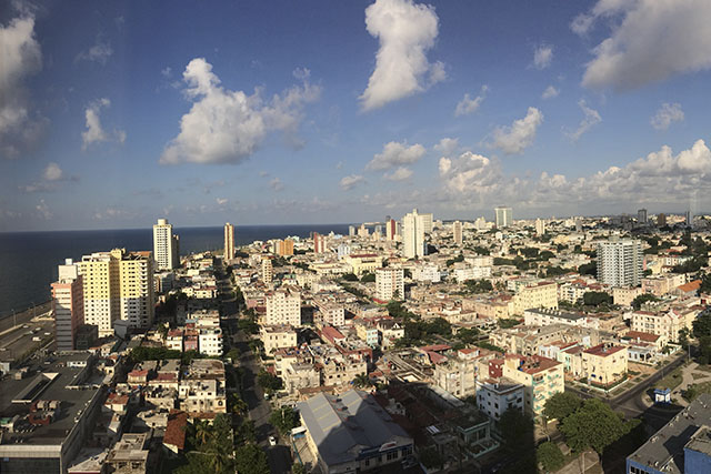 Views over Havana, Cuba