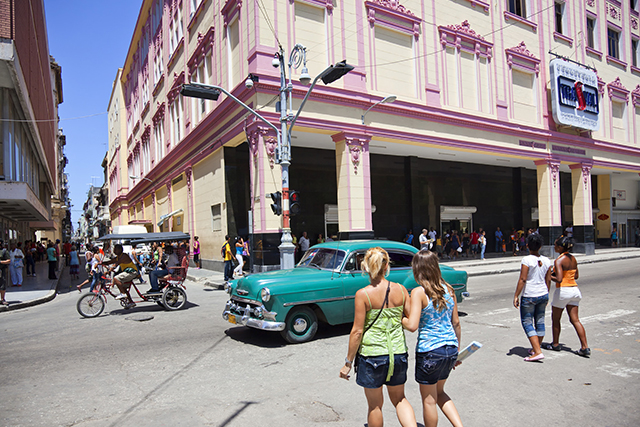 First time visiting Cuba