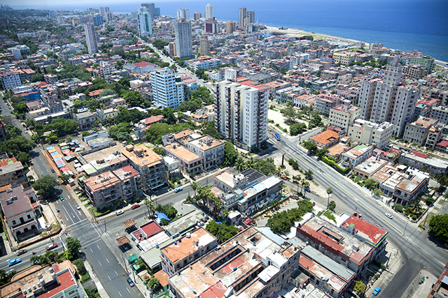 Havana Vedado Neighborhood