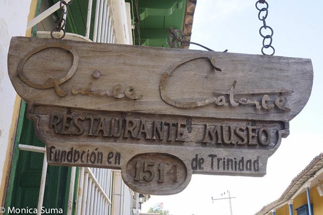 Restaurante Museo 1514 in Trinidad, Cuba