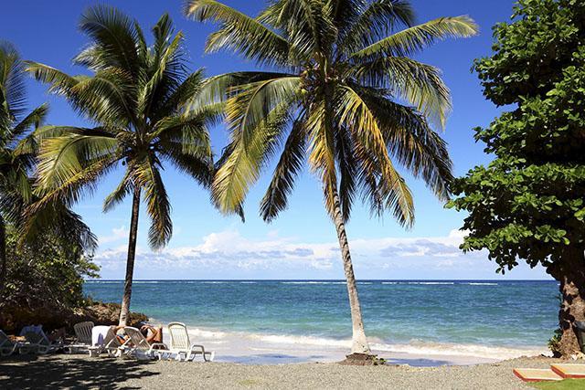 Playa Maguana area, Baracoa, Cuba
