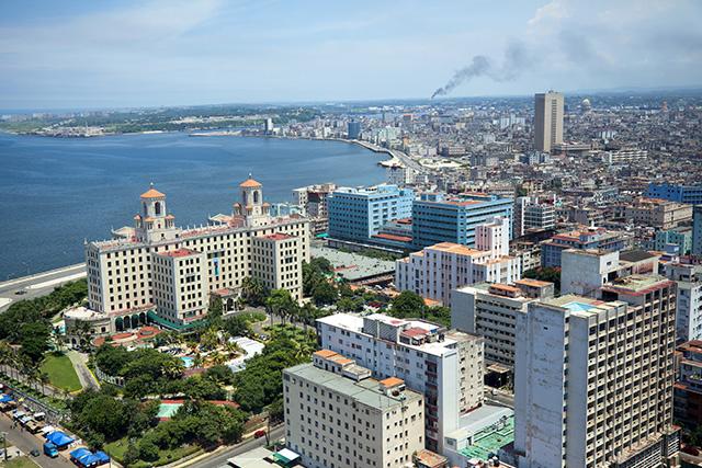 Hotel Nacional in Vedado Cuba