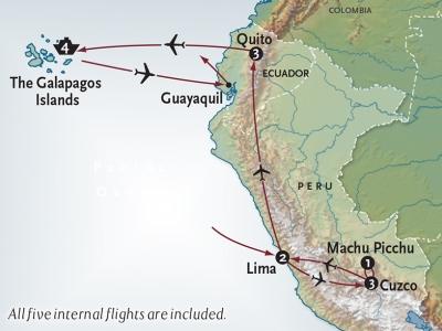 Map of Peru and Ecuador.400x300