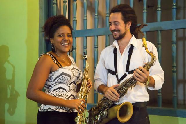 Musicians in Hologuin Cuba