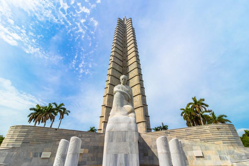 Jose Marti Statue Plaza De La Revolucion Havana, Cuba