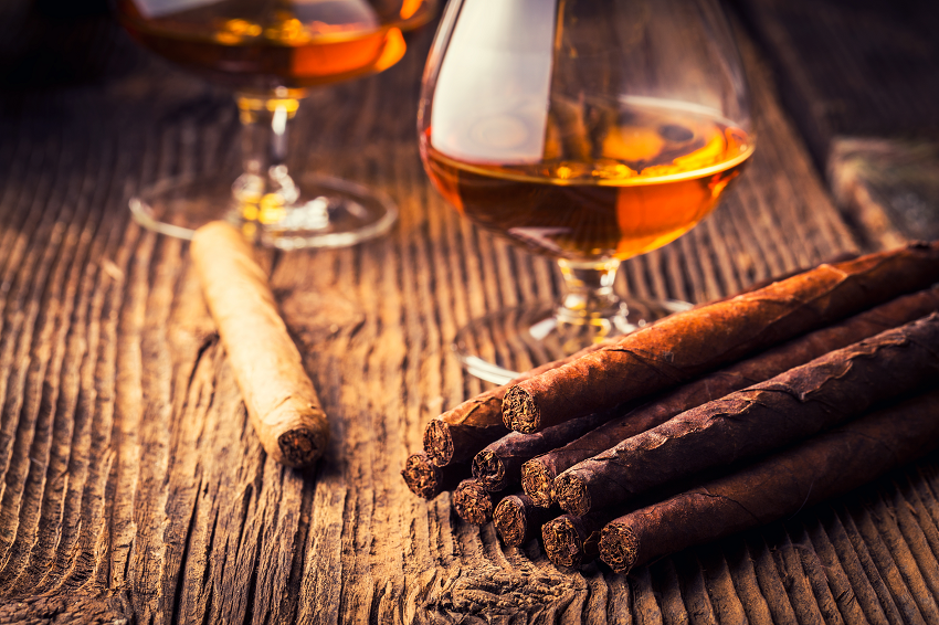 Rum and Cuban Cigars