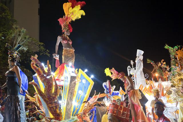 The Santiago De Cuba Carnival