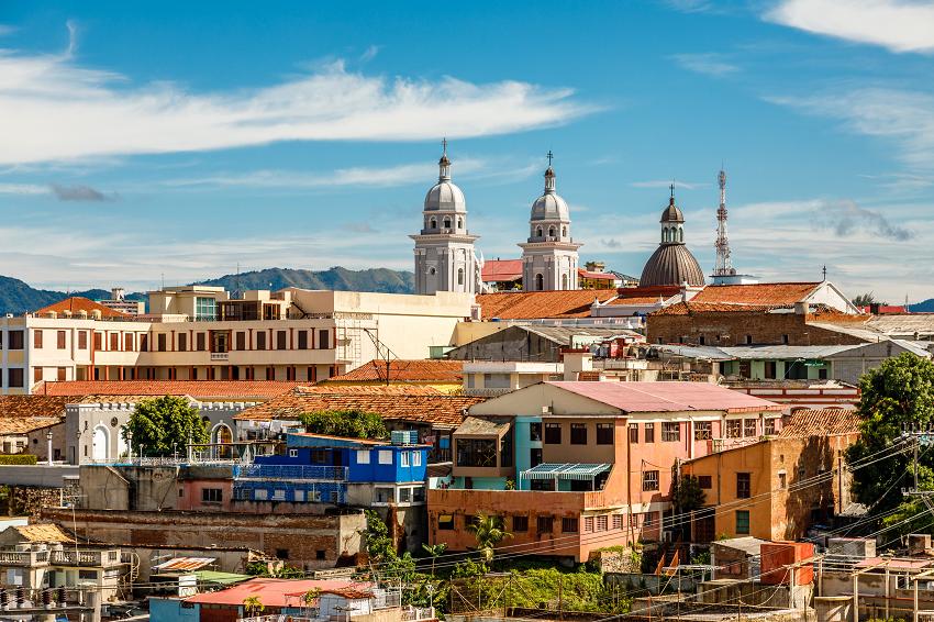 Santiago de Cuba Aerial View