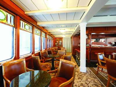 Seascape tavern m/v victory I bar restaurant lounge eat dining room yacht public area luxury cruise vacation food drink