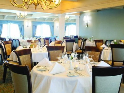 Shearwater dining room yacht cruise m/v victory I Cuba dine food drink meal luxury vacation