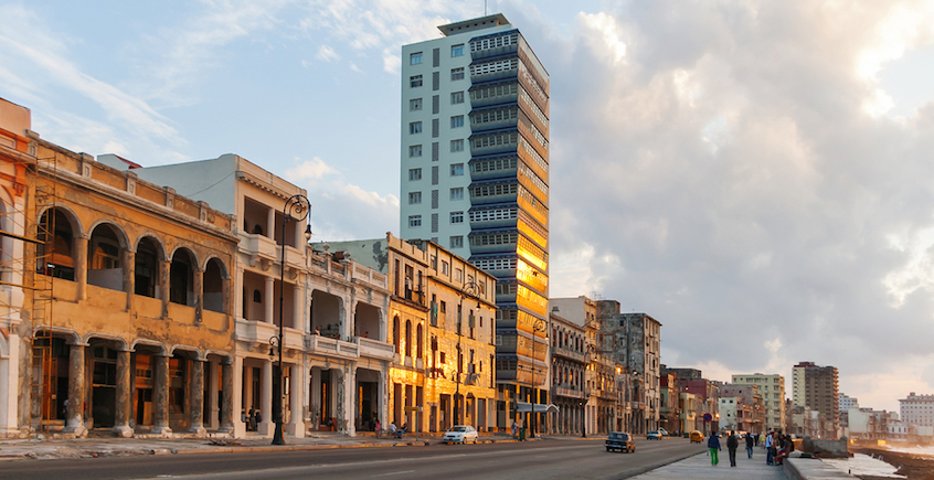 Havana at dawn