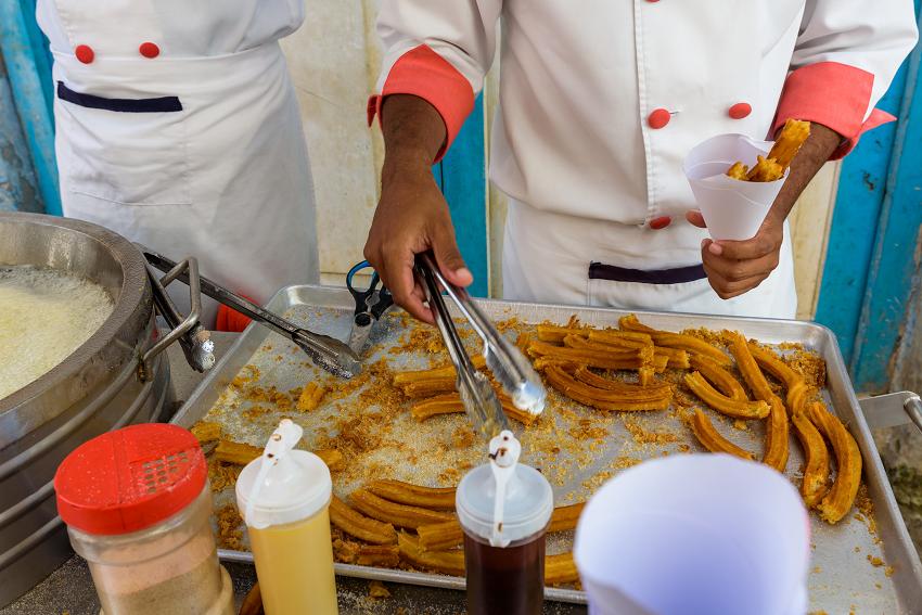 Street Food Cuban Churros