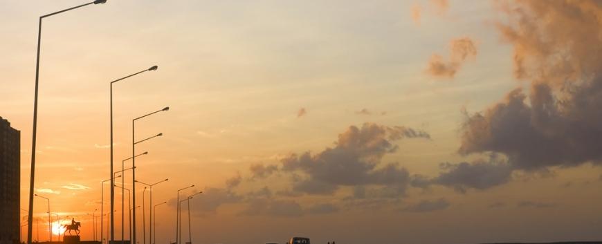 Sunset on the Malecon in Havana, Cuba.jpg