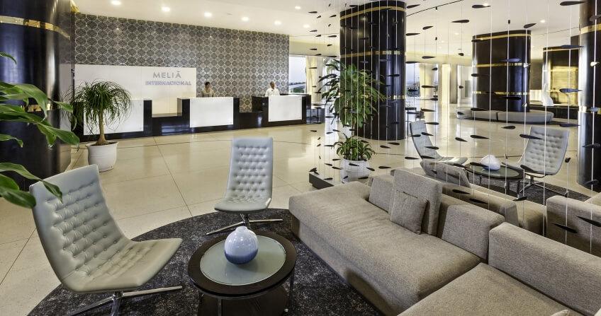Melia International Hotel Reception & Lobby Area