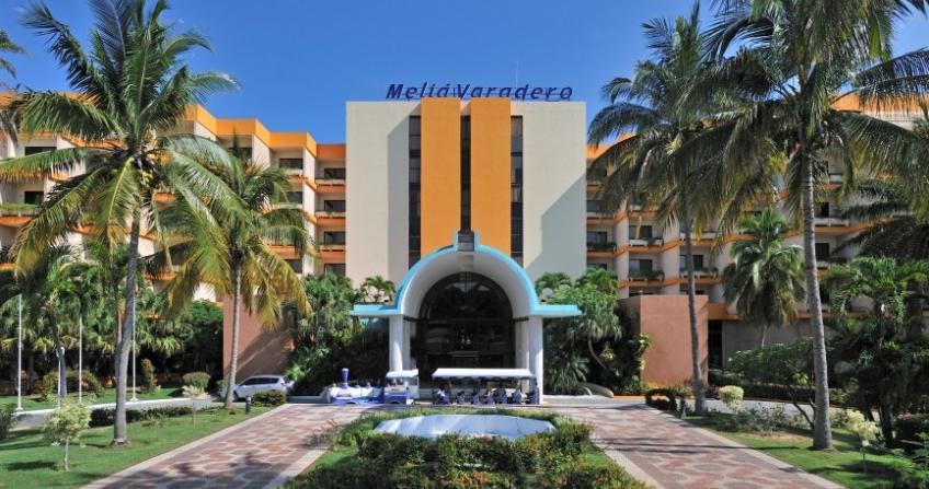 Melia Varadero Hotel Entrance Varadero, Cuba