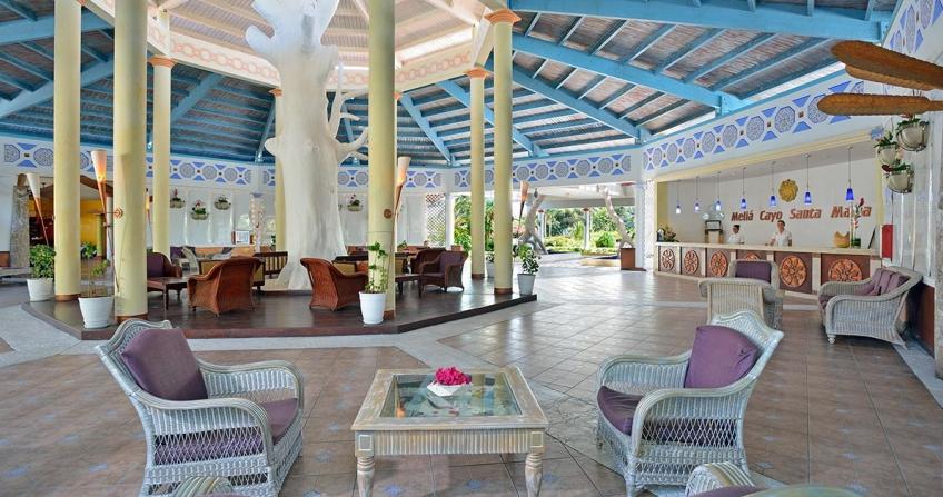 Meliá Cayo Santa María Lobby Cuba Hotel Resort