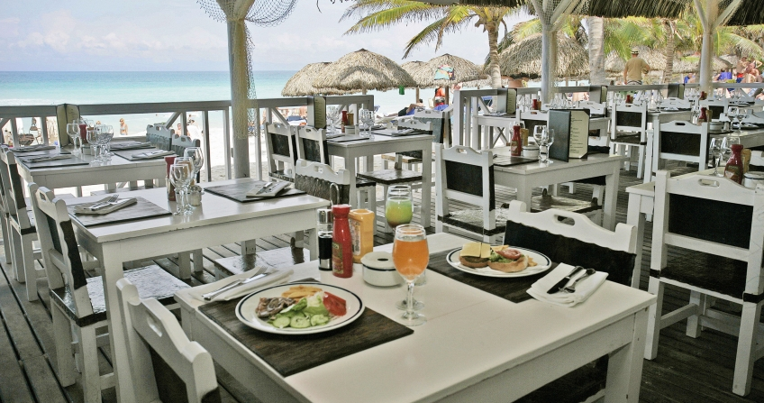 Outdoor Dining Melia Varadero Beach Resort