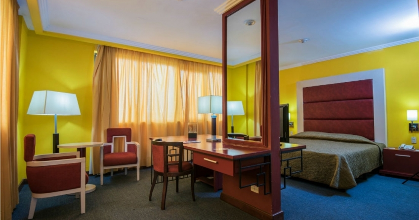 Starwood Four Points by Sheraton Havana Hotel King Bed Room Vacation