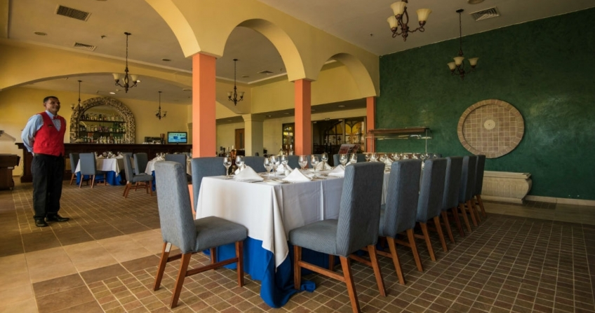 Don Quijote Spanish Restaurant Starwood Four Points by Sheraton Havana Hotel Cuba Restaurant
