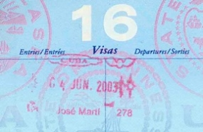 Passport Cuban Visa