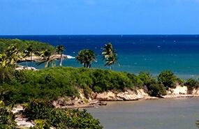 Cuba coastline