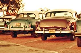Vintage cuba havana cars old