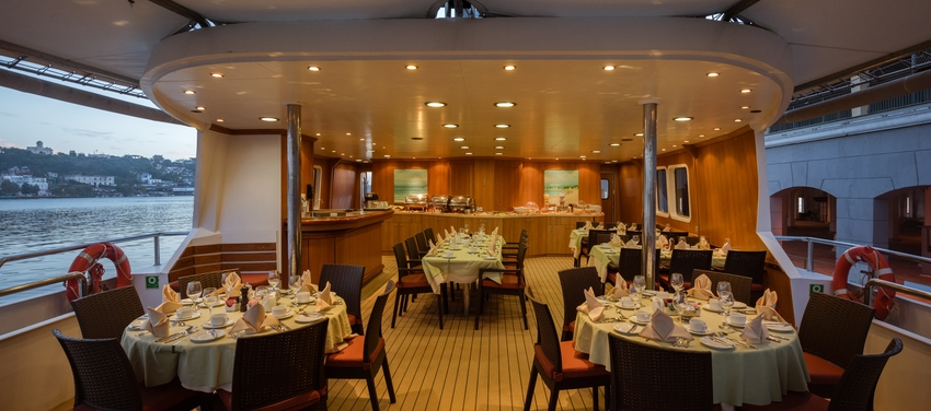 Dining room on the M/S Panorama II