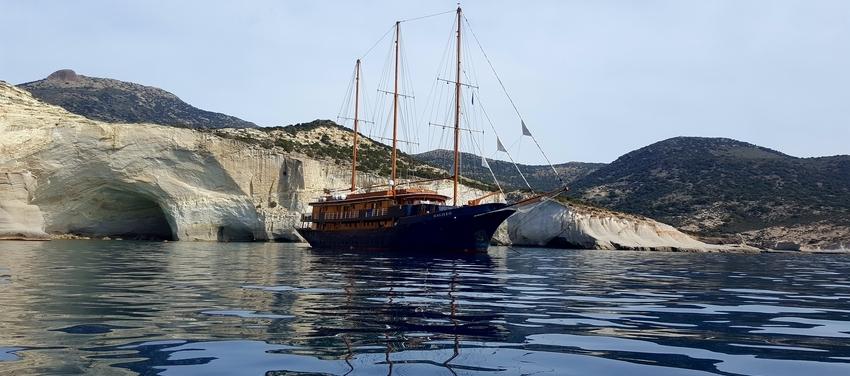 Sail Athens Greece travel vacation M/S Galileo
