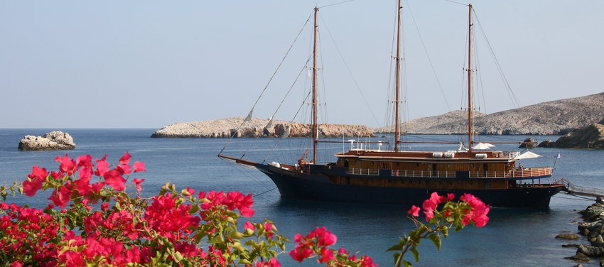 The M/S Galileo sailing boat ship travel Greece athens