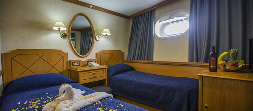 Category B cabin twin room