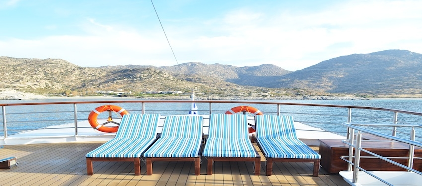 Callisto Sun Deck Lounge Relax Vacation Cruise Cuba