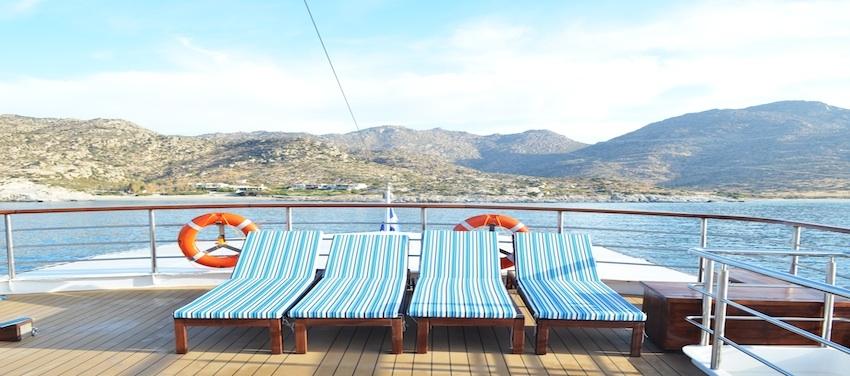 Callisto Sun Deck Lounge Relax Vacation Cruise Cuba