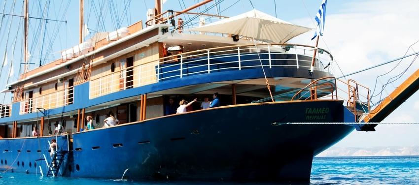 the M/S Galileo ship boat sail travel